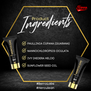 [Lulus KKM] Herculean Firming Cream By Berro Labs 100ml