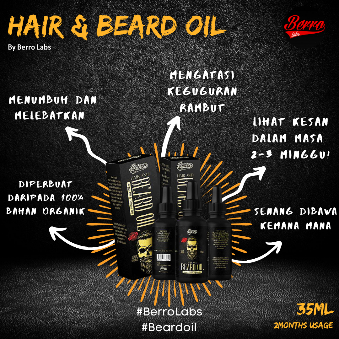 Berro Hair & Beard Oil