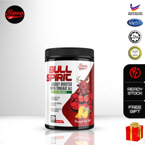 Berro Labs Bull Spirit Energy Booster 200g