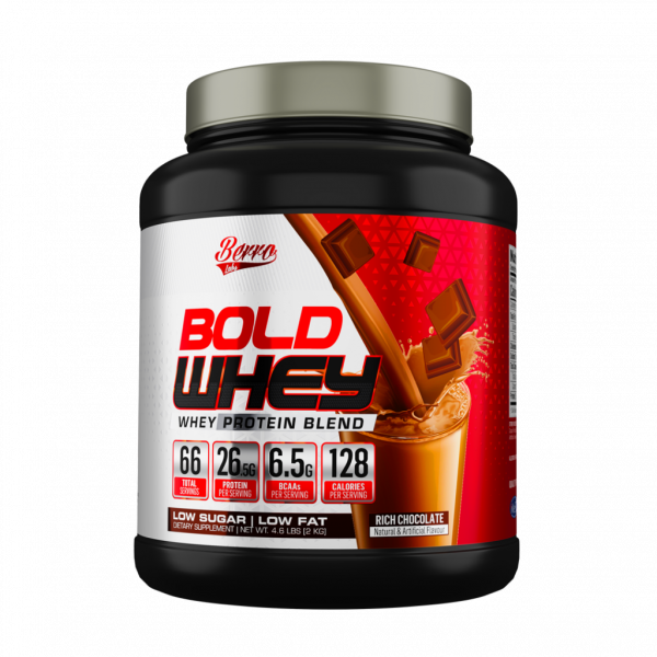 Berro Labs Bold Whey Protein Blend 2.0kg | 66 Servings Halal & Lulus KKM – Lean Muscle Gain,BCAA,Fitness Gym Supplement